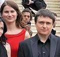Cristina Flutur and Cristian Mungiu (Cannes Film Festival 2012).jpg