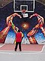 Crombie Park basketball court, The Esplanade, 2014 11 29 -b.jpg