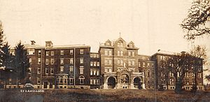 Mayo Clinic Hospital, Saint Mary's Campus - St. Mary's Hospital in 1910