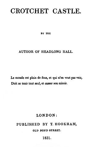 Crotchet Castle - First edition title page