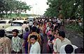 Crowd - Dinosaurs Alive Exhibition - Science City - Eastern Metropolitan Bypass - Calcutta 1995-07-31 353.JPG