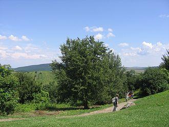 Cserhát - Cserhát Mountains near the ethnographic village of Hollókő