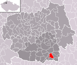 Location of Ctiněves