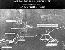 Αεροφωτογραφία που αποκάλυπτε τις βάσεις εκτόξευσης πυραύλων, στο έδαφος της Κούβας.