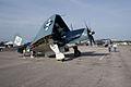 Curtiss SB2C-5 Helldiver BuNo 83589 NX92879L Grumman TBM-3E Avenger BuNo 91436 NL436GM RSideFronts SNF 04April2014 (14399737969).jpg