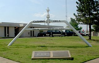 Cushing, Oklahoma City in Oklahoma, United States