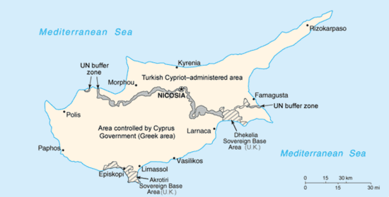 Cyprus island Travel guide at Wikivoyage