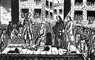 Thomas Arthur, comte de Lally - Execution in 1766