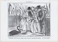 Décidément, ce qui, cette année, obtient le plus de succès à l'exposition de sculpture..., from Le Salon de 1857, published in Le Charivari, July 21, 1857 MET DP876653.jpg