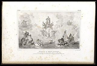 Décoration du Ballet Historique : Donné au Théatre de la Cour, à Rio de Janeiro, le 13 de mai 1818; à l'occasion de l'acclamation du Roi D. Jean VI et du mariage du Prince Royal D. Pedro, son fils
