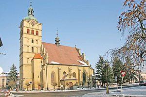 Chlumec nad Cidlinou - St. Voršila Church