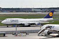 D-ABVO - B744 - Lufthansa