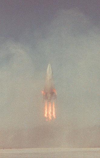 VTVL - DC-XA landing in 1996