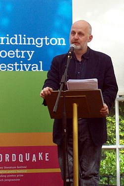 Don Paterson reading at Bridlington Poetry Festival