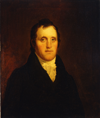18th United States Congress - President of the Senate Daniel D. Tompkins