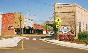Daingerfield, Texas - Historic downtown Daingerfield