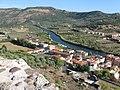 Dal castello, veduta sul fiume TEMO - panoramio.jpg
