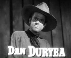 Dan Duryea in Along Came Jones trailer