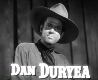 Western (genre) - Dan Duryea in Along Came Jones (1945)