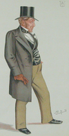 Caricature of Daniel Gooch