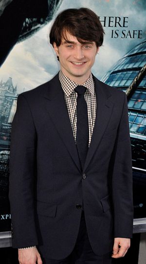 English: Daniel Radcliffe at the film premiere...