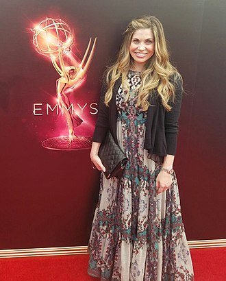 Danielle Fishel - Fishel at the 2016 Emmy Awards