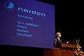 Danmarks statsminister Helle Thorning-Schmidt vid utdelningen av Nordiska Radets pris vid Nordiska Radets session 2011 i Kopenhamn.jpg