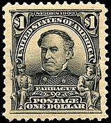 David Farragut 1903 issue-$1