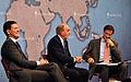 David Miliband MP, Senator George Mitchell and Dr Robin Niblett (6257471874).jpg