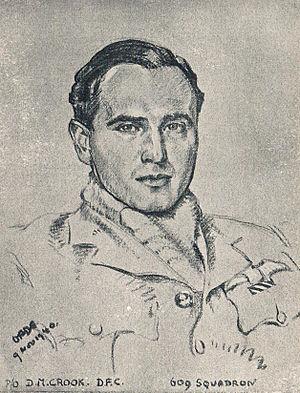 Cuthbert Orde - Image: David Moore Crook portrait by Cuthbert Orde, 1940