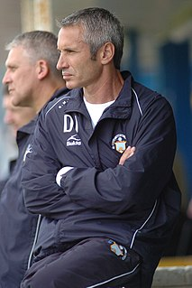 Davie Irons Scottish football manager and former player