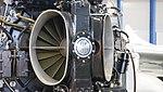De Havilland Goblin 35 turbojet engine air intake right front view at Hamamatsu Air Base Publication Center November 24, 2014.jpg