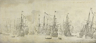 The unsuccessful English attack against the returning Dutch fleet in the harbor of Bergen, Norway, 12 August 1665: episode from the Second Anglo-Dutch War (1665-67)