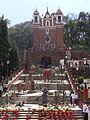 Decoración navideña en el Cerro de los Magueyes.JPG