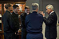 Defense Secretary Chuck Hagel talks with senior military leaders as he hosts a senior leadership council meeting at the Pentagon, Dec. 3, 2014 141203-D-DT527-036c.jpg