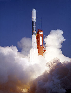 ROSAT - Launch of the ROSAT in Cape Canaveral, Florida.