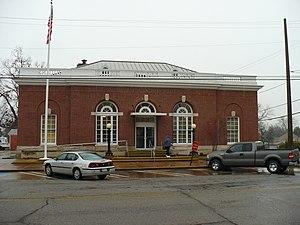 United States Post Office (Demopolis, Alabama) - The Demopolis Post Office in 2008