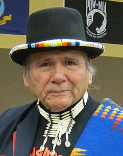 Dennis Banks Ojibwe co-founder of the American Indian Movement (1937-2017)