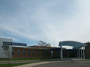 Depew Union Free School District - Image: Depew Middle School