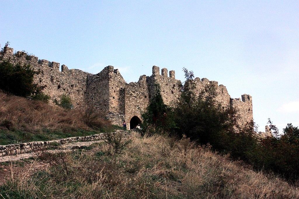 Der Eingang der Burg von Platamon
