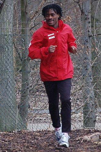 Derek Boateng - Derek Boateng training with 1. FC Köln