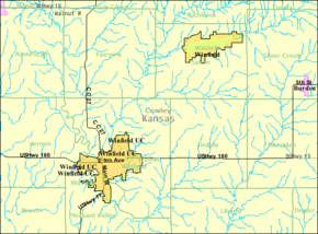 Detailed map of Winfield, Kansas.png