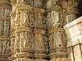 Devi Jagdambi Temple Khajuraho Outer Wall 11.JPG