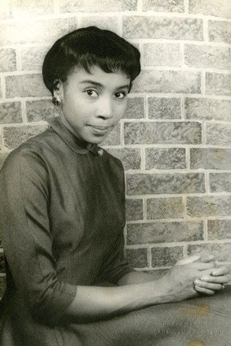 Diahann Carroll - Carroll on March 14, 1955 (age 19) Photographed by Carl Van Vechten.