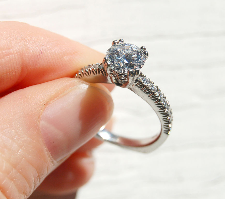 Womens Diamond Ring Ebay