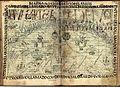 Dibujo 344. Mapa Mundi de las Indias del Perú, con la división cuatripartita del imperio incaico del Tawantinsuyu.jpg