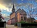 Die katholische Pfarrkirche Mariä Heimsuchung, umgangssprachlich auch kurz Marienkirche genannt, ist ein neuromanisches Gotteshaus in der niedersächsischen Kreisstadt Northeim. Die 1885-86 nach Plänen von Richard Herz - panoramio.jpg