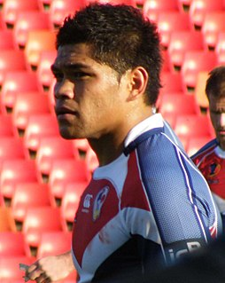 Dimitri Pelo French rugby league and rugby union footballer
