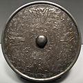 Dinastia tang o periodo nara, specchio con mare e isole, VIII sec.JPG