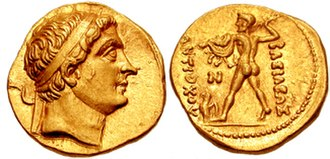 Diodotus I - Gold coinage of Diodotus I